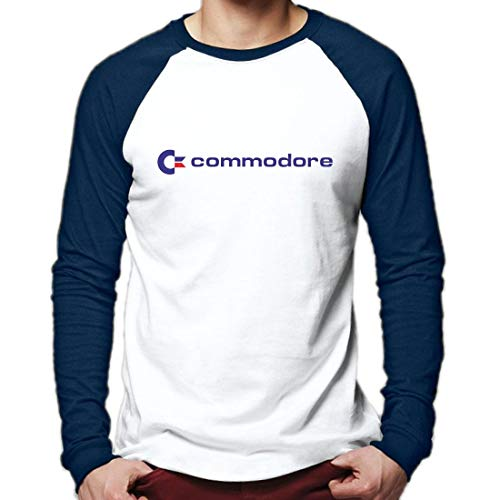 * NEW * Commodore Computers Logo Baseball Shirt for Men, S to 3XL