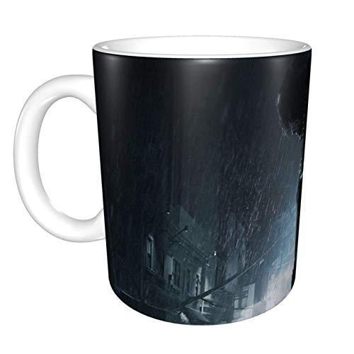 N\A Resident Evil 2 Claire y Leon, Taza de café de cerámica Divertida única, Taza de té de café de Oficina en casa para Regalo de Festival novedoso