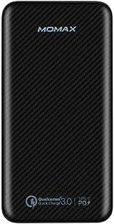 Momax iPower Minimal PD QC External Battery Pack 10000mAh - Black
