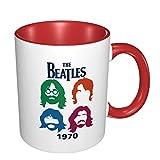 Tazza da caffè in ceramica divertente con logo dei Beatles, tazza della novità, idee regalo di compleanno di Natale per lei, lui, amici, colleghi, moglie, marito, mamma, figlia, sorella, zia tazza di
