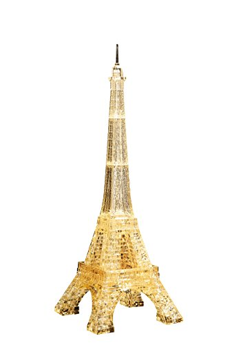 Crystal puzzle Eiffel Tower Gold (japan import)