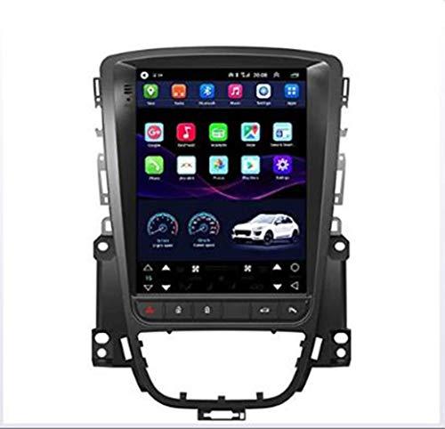 JIDI Autoradio per Opel Astra j Anno 2011,Navigatore per Auto Stereo per Auto Supporto per Lettore multimediale per Auto Specchio per Schermo Navigatore GPS