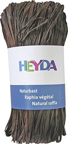 Heyda 204887798 Bast Naturbast (0 m x 0 mm,) braun