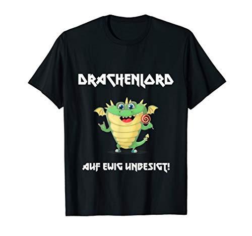 DRACHENLORD EWIG UNBESIGT GAME FAN HATER T-Shirt
