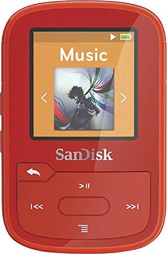 SanDisk Clip Sport Plus MP3-Player 16GB rot