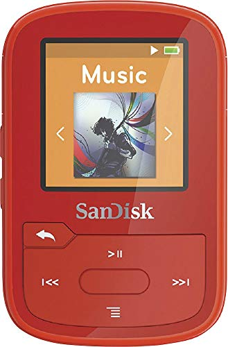 SanDisk Clip Sport Plus MP3-Player 16 GB rot