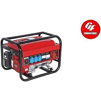 Generador electrico gasolina 230/380V 5500w trifasico monofasico ...