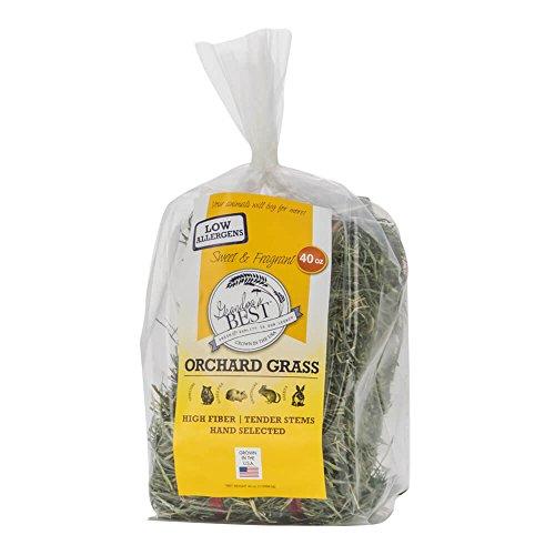 Grandpa's Best Orchard Grass Bale, 40 oz