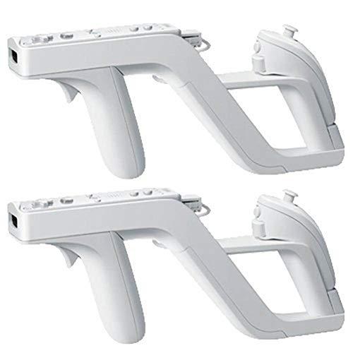 CaaWoo Wii Zapper Gun,Compatibile con Wii Remote e Nunchuck Controller