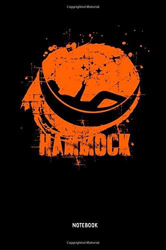Hammock - Notebook: Lined Hammock Notebook / Journal. Great Hammock Accessories & Novelty Gift Idea for all Hammock & Camping Lover.