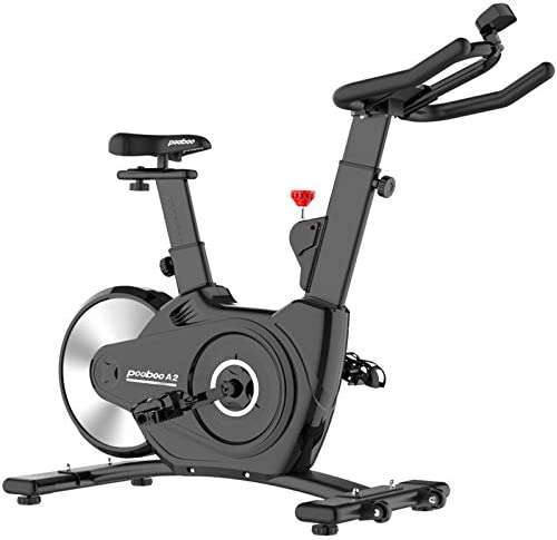 pooboo Indoor Cycling Bikes Magnetic Exercise Bikes Belt Driven Stationary Bike with LCD Display product image