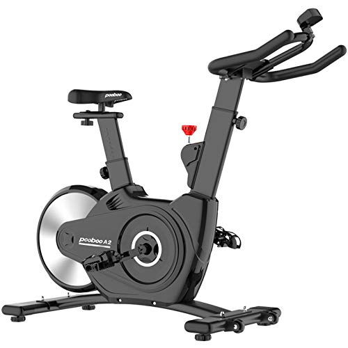 pooboo Indoor Cycling Bikes Magnetic Exercise Bikes Belt Driven Stationary Bike with LCD...