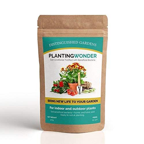 Bodenaktivator - Effizienzverbesserer für Pflanzendünger & Düngemittel - Universell, Keimfrei, Natürlich, Biologisch - Für Zimmerpflanzen, Hauspflanzen, Kübelpflanzen, Grünpflanzen in Garten, Balkon