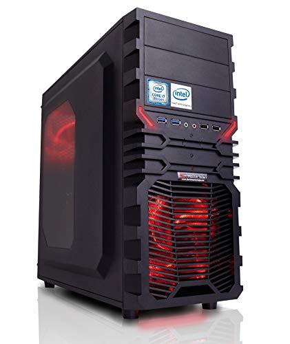 Gaming Aufrüst PC Intel, i7-7700K 4x4.2 GHz, 16GB DDR4, Intel HD Grafik 630 1GB, Spiele Computer Desktop Rechner