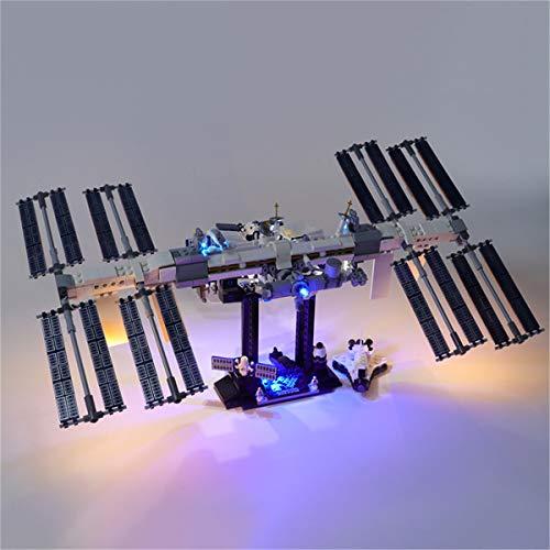 Kit De IluminacióN Led Para Lego International Space Station, Compatible Con El Modelo De Bloques De ConstruccióN Lego 21321 (No Incluido En El Modelo)
