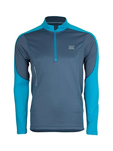 TAO Sportswear T-Shirt Frost Breaker XXL Powder/Neon Blue