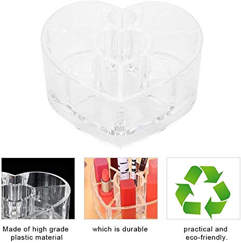 8 Grids Mini plastic opbergdoos, nagelborstels Organizer Clear Showcase nagelborstels Organizer Plastic Vitrine Cosmetische Organizer lsmaa