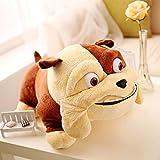 Peluche El Movie Rio 2 Rafael Luiz Pluush Toy 38 Cm Bulldog Muñeca Soft Doll Animal De Peluche para Juguetes para Niños