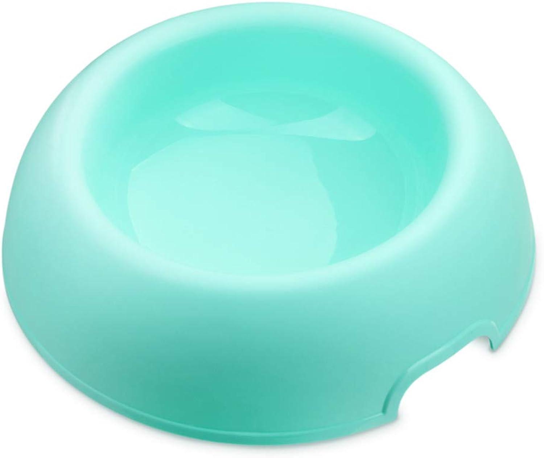 FOREVERYOU Cat Bowl pet Food Basin color Dog Bowl Bowls golden Dog Bowl A