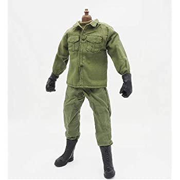 1//6 Scale 12/'/' Military Soldier Figure Clothing Accs Vest Shirt for Sideshow