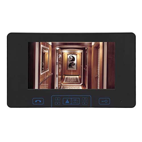 Inicio Timbre de la puerta de 7 pulgadas con pantalla de dígitos a(European standard (100-240v))