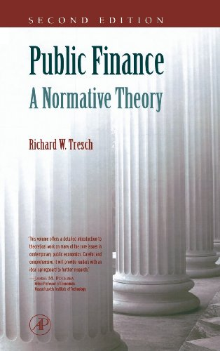 Compare Textbook Prices for Public Finance: A Normative Theory 2 Edition ISBN 9780126990515 by Tresch, Richard W.