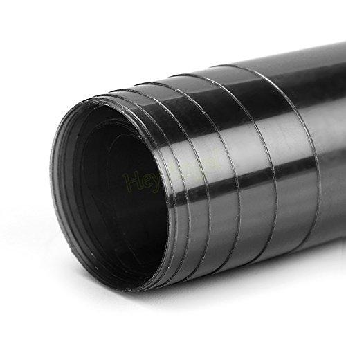 SKS Distribution® 100 cm x 30 cm Voiture Noir Phare Avant avec Queue, lumières, Feux Anti-Brouillard pour Film Vinyle, Autocollant imperméable