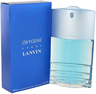 Lanvȋn Oxygène Colόgne For Men 3.4 oz Eau De Toilette Spray + a Free Vial