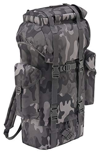 Brandit Zaino militare militare militare, Unisex - Adulto, 8003, Grigio militare, 65 litri