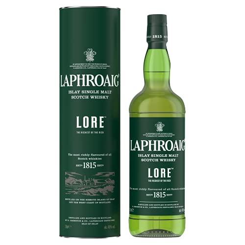 4. Whisky ahumado Laphroaig Lore Single Malt