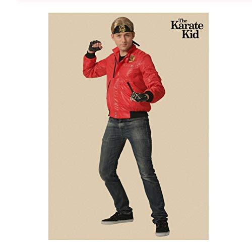 NVRENHUA Karate Kid Movie Retro Poster Mural Canvas