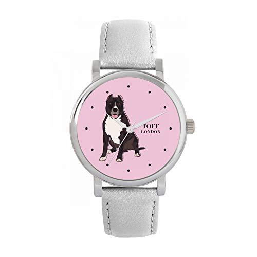 Toff London Reloj para Perros American Staffordshire Terrier