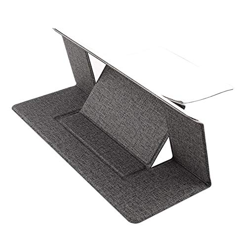 Raxinbang folding table Multi-functional Lifting Notebook Stand Space-saving Adjustable Desktop Laptop Tray Desk Stand Desk Stand Table Portable Folding Invisible Ultra-thin Creative, Ergonomic Design