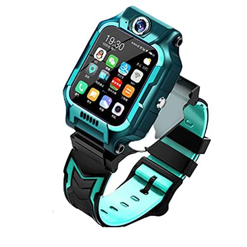 DLBJ Smartwatch Niños, Reloj Inteligente Niño LBS Llamada Bidireccional SOS Modo de Clase Cámara Juegos Regalo para Niño Niña de 3-12 años