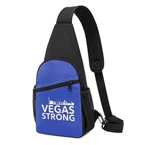 XCNGG We are Las Vegas We are Strong Chest Backpack Chest Pack Ultra Lightweight Backpack