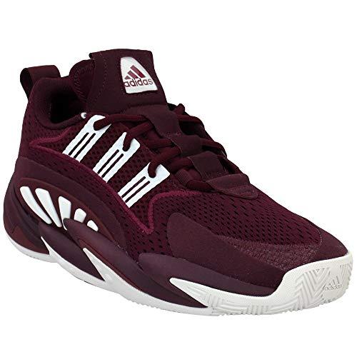 adidas Men's SM Crazy BYW 2-0 Team Basketball Maroon/White/Maroon 11.5