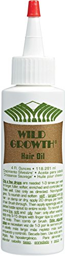hair growths Wild Growth Hair Oil 4 Oz