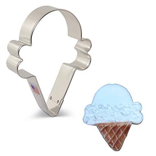Ann Clark Cookie Cutters Cortador de galletas cucurucho de helado / cara de payaso - 10,8 cm