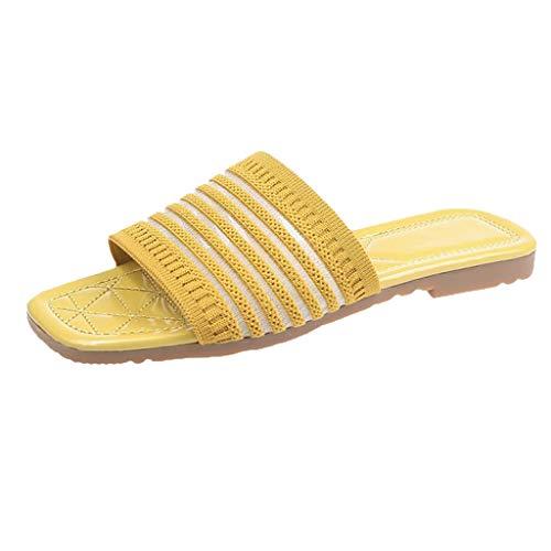 Luckycat Zapatos de Playa y Piscina para Mujer Chanclas de Playa y Piscina para Unisex Suave Bañarse Sandalias Zapatillas para Mujer y Hombre Antideslizante