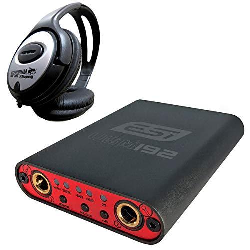 ESI UGM192 kompaktes 2-Kanal USB-Interface + keepdrum Kopfhörer