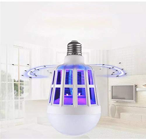 AS AllAccessoriesshop Bug Light Zapper Indoors and Outdoor - Mosquito Killer Trap Insect Bug Zapper Electric Fly Trap Mosquito Attractant