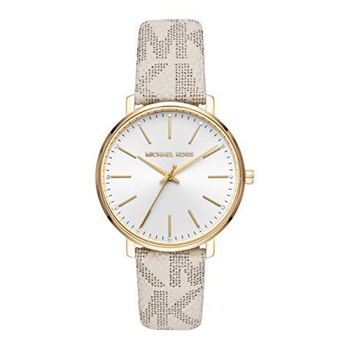 Michael Kors Damen-Uhren Analog Quarz One Size Weiß 32010367