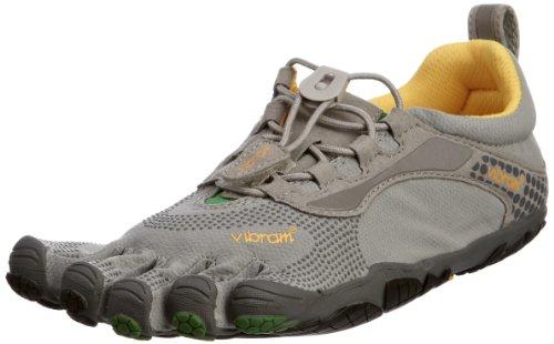 Vibram Five Fingers Bikila LS 5F/LSW355GG-37 - Zapatillas de Fitness de Cuero para Mujer, Color Gris, Talla 36.5