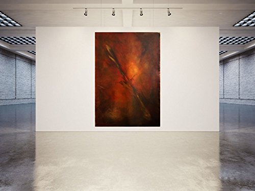 Unikat - 2013, Acryl / Leinwand 240 x 165 cm, Handsigniert - Kunst - Bild - Abstrakte Malerei - Painting