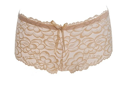 RangYR Mijn dames toppen holle Jacquard mode ondergoed, dames verleiding lage taille standaard broek