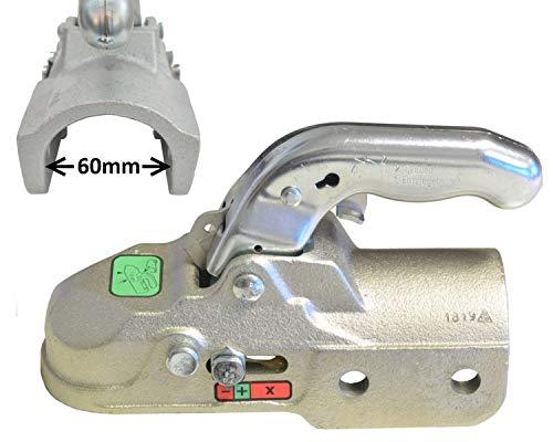 FKAnhängerteile 1 x Knott -Kugelkupplung - K35-C - 3500kg - Ø60mm - Bohrungen Ø14,5mm