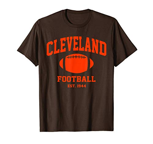 Cleveland Football Vintage Game day gift T-Shirt
