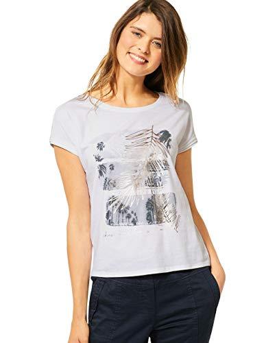 Cecil Damen 314988 T-Shirt, White, X-Large
