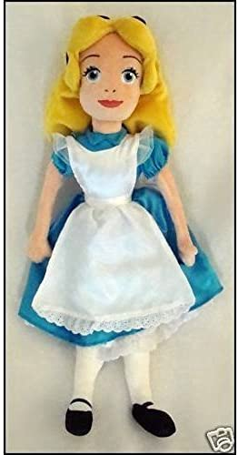 OverGrößed Hard to Find Disney Alice in Wonderland 20 Alice Plush Doll MINT by Disney