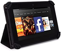 Toshiba Excite Go AT7-C8 7 Inch Tablet Case, UniGrip Edition - BLACK - By Cush Cases
